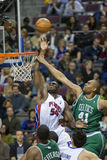 Jason Maxiell Gets Fouled Royalty Free Stock Photos