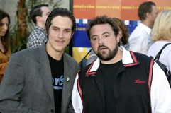 Jason Mewes and Kevin Smith Royalty Free Stock Images