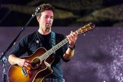Jason Mraz concert performance Royalty Free Stock Image