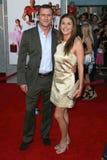 Jason O'Mara, Paige Turco, el juego Imagen de archivo