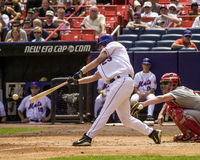 Jason Phillips, New York Mets, catcher Στοκ Εικόνες