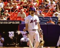Jason Phillips, New York Mets, catcher. New York Mets catcher Jason Phillips.  (Image is from a color slide Royalty Free Stock Images