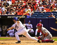 Jason Phillips, New York Mets, catcher. Royalty Free Stock Image