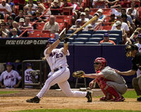 Jason Phillips, New York Mets, coletor Imagens de Stock