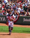 jason Red Sox varitek Royaltyfria Foton