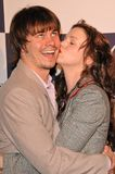 Jason Ritter,Amber Tamblyn Stock Photography