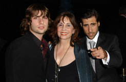Jason Schwartzman, Talia Shire Royalty Free Stock Photos