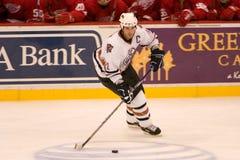 Jason Smith de los Edmonton Oilers Fotografía de archivo libre de regalías