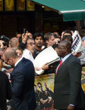 Jason Statham At The Expendables Premiere Royalty Free Stock Images