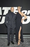 Jason Statham och Rosie Huntington-Whiteley Arkivbilder