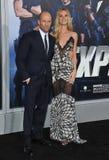 Jason Statham & Rosie Huntington-Whiteley Royaltyfria Foton