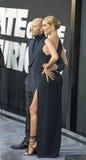 Jason Statham und Rosie Huntington-Whiteley Lizenzfreie Stockfotografie