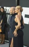 Jason Statham und Rosie Huntington-Whiteley Stockbild