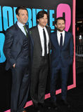 Jason Sudeikis & Jason Bateman & Charlie Day Stock Photography