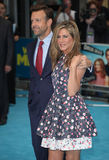Jason Sudeikis,Jennifer Aniston Stock Photo