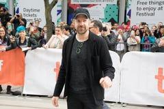 Jason Sudeikis na premier do ` de Kodachrome do ` no festival de cinema do international de toronto foto de stock