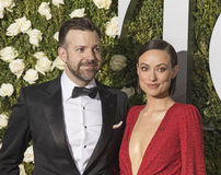 Jason Sudeikis and Olivia Wilde Royalty Free Stock Images