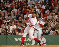 Jason Varitek, Boston Red Sox photos libres de droits