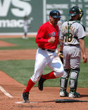 Jason Varitek, Boston Red Sox photographie stock