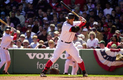Jason Varitek,  Boston Red Sox Royalty Free Stock Photos