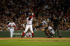 Jason Varitek Boston Rode Sox Royalty-vrije Stock Afbeeldingen