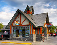 Jaspe, Canadá Imagem de Stock Royalty Free
