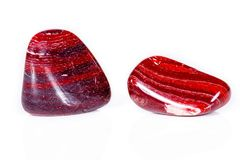 Jaspe de pedra mineral macro Fotografia de Stock Royalty Free