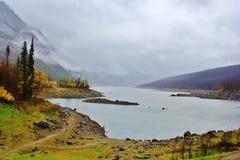 Jaspe del lago medicine, Alberta fotografía de archivo libre de regalías