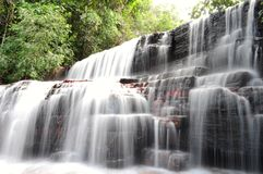 Jaspe Fall Creek The Gran Sabana Royalty Free Stock Image