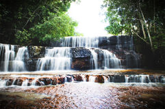 Jaspe waterfalls 2 Royalty Free Stock Images