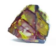 Jasper. Beautiful crystal of natural jasper Stock Image