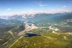 Jasper Alberta Kanada Royaltyfria Bilder