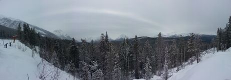 Jasper, Alberta Royalty Free Stock Image