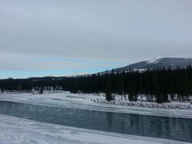 Jasper Alberta Stock Photo