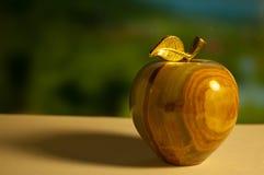 Jasper apple backgroud. Backgroud with jasper apple close-up Royalty Free Stock Photos