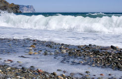 Jasper beach Royalty Free Stock Photo