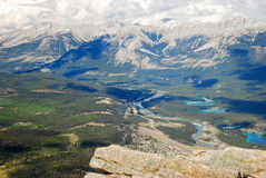 Jasper National Park Lizenzfreies Stockbild