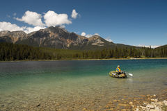 Jasper National Park - Alberta - Canada Stock Photo