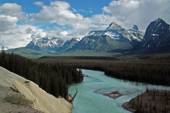 Jasper National Park Alberta, Kanada. Royaltyfri Foto