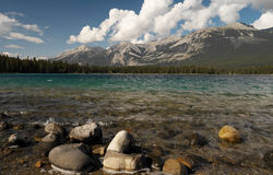 Jasper National Park in Canada Stock Photo