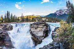 Jasper National Park royalty-vrije stock afbeelding