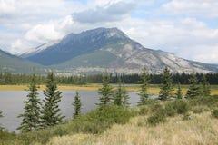 Jasper National Park en Alberta, Canadá fotografía de archivo libre de regalías