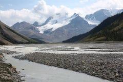 Jasper National Park i Alberta, Kanada Arkivfoton