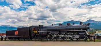 Jasper National Park locomotor histórico Imagen de archivo