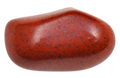 Jasper pebble Stock Image