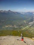 Jasper Sky Tram, Canadian Rockies Royalty Free Stock Image