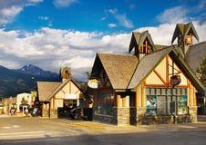 Jasper Summer Vacation, Canada Alberta stock image