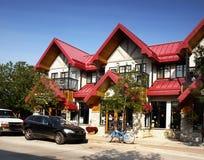 Jasper Town Canada Stock Image