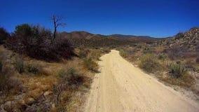 Jasper Trail Borrego Desert Ca POV 7 vídeos de arquivo
