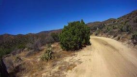Jasper Trail Borrego Desert Ca POV 8 stock videobeelden